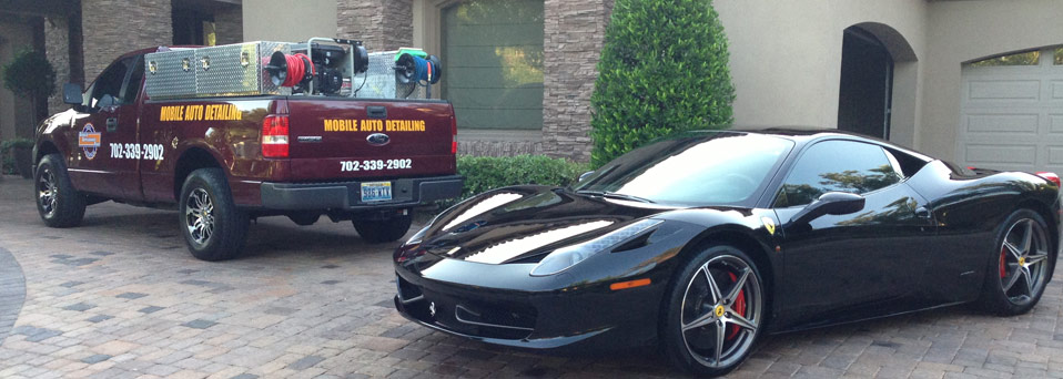 Las Vegas Mobile Detailing Ferrari